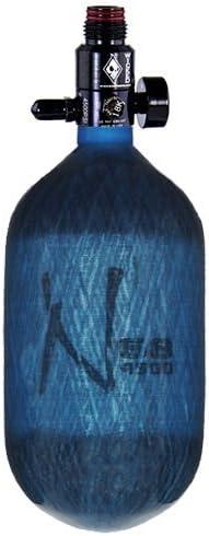 /68//4500/ /Blau Transparent Ninja Karbonfaser HPA Tank/