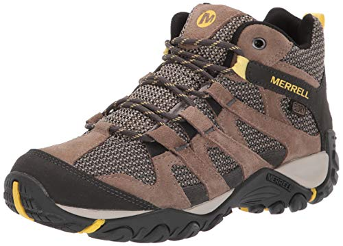 Merrell Women's ALVERSTONE MID Waterproof Hiking Shoe, Brindle, 08.0 M US