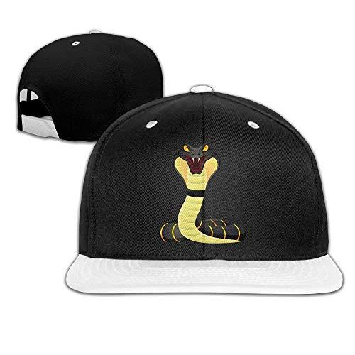 - Hip Hop Caps King Cobra Snake Logo Cotton Hats Adjustable Unisex Baseball Cap
