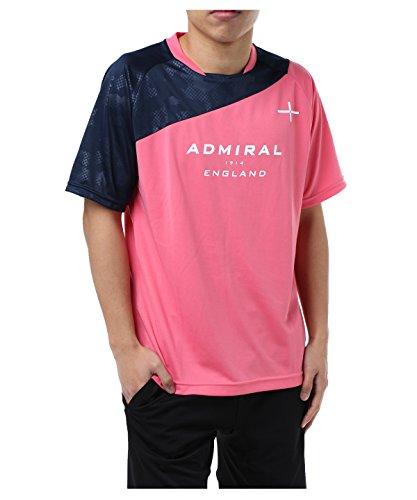 足降臨傾向があるアドミラル サッカーウェア 半袖シャツ 半袖プラクティスシャツ AD540403H03 CORAL O