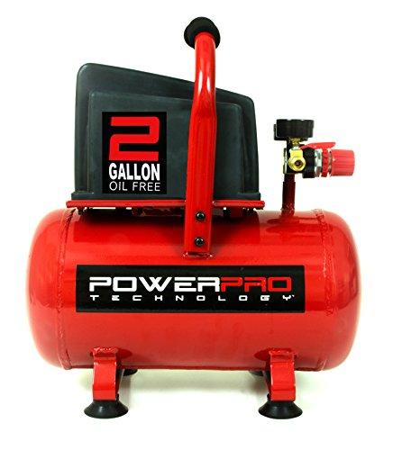 PowerPro 22020 2 Gallon Oil Free Air Compressor