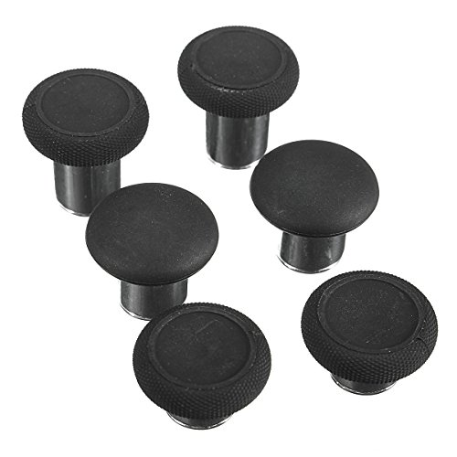(6Pcs Replacement Grips Stick Button Cover For Controller - XBOX Video Games Accessories XBOX One - 6 x Grips Cap for Elite controller)