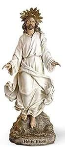 """12""""Cristo Resucitado Jesús Estatua Figura resurrección"""