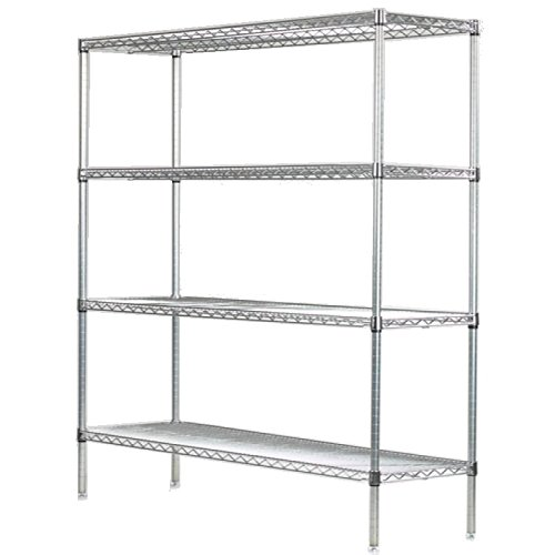4 foot shelf unit - 5