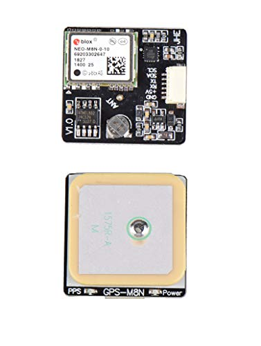 Leoie Ublox M8N GPS Integrated QMC5883 Compass for F3 F4 F7 INAV Flight  Controller Board for FPV RC Racing Drone