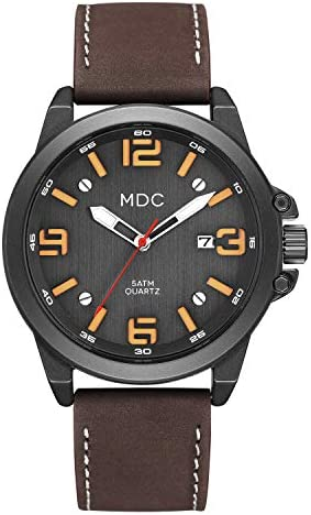 Big Face Military Tactical Sport Watch for Men, Large Outdoor Analog Wrist Watch, Mens Casual Work Quartz Watch – Imported Japanese Movement, 5ATM Waterproof
