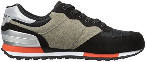 Polo Ralph Lauren Mens Slaton Pony Fashion Sneaker Nero