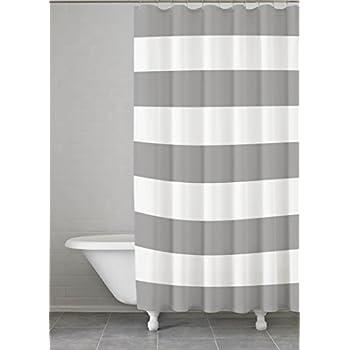 black white striped shower curtain. Kassatex Fine Linens HMS 115 G Hampton Stripe Shower Curtain Amazon com