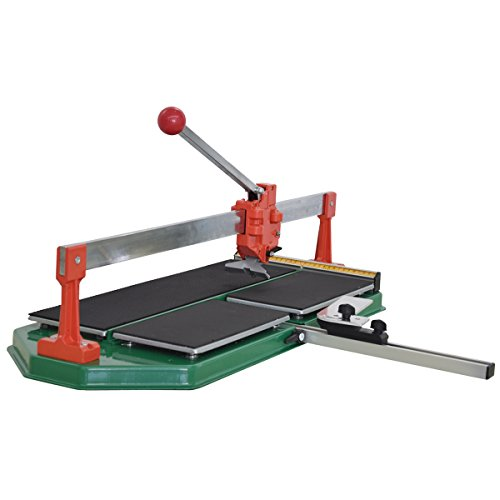 KSEIBI 291050 Professional Manual Ceramic Tile Cutter Italy Pattern (24 Inch)