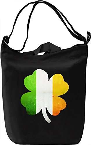 St Patricks Day Borsa Giornaliera Canvas Canvas Day Bag| 100% Premium Cotton Canvas| DTG Printing|