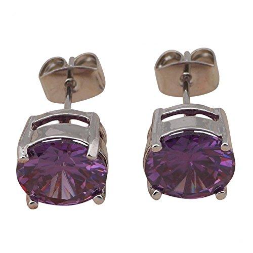 Amethyst Purple Austrian Crystal - 9