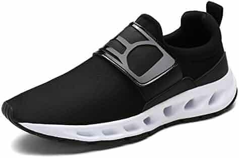 6978145c093d Leader Show Men s Fashion Elastic Comfortable Sneaker Casual Sport Walking  Shoes