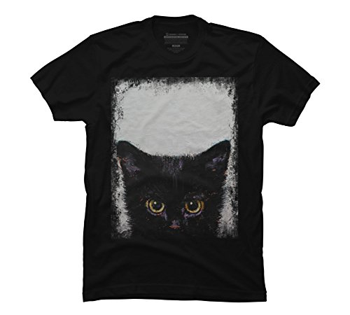 BLACK KITTEN Men's 5X-Large Black Graphic T Shirt - Design By Humans -