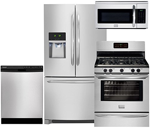 Frigidaire Gallery 4-Piece Stainless Steel Package with D...