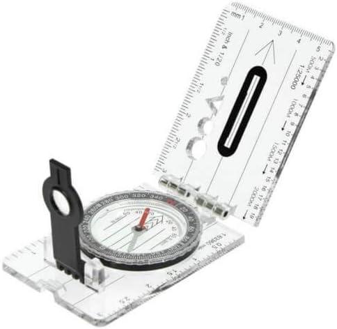 Highlander Scout Sighting Lightweight Ruler Compass