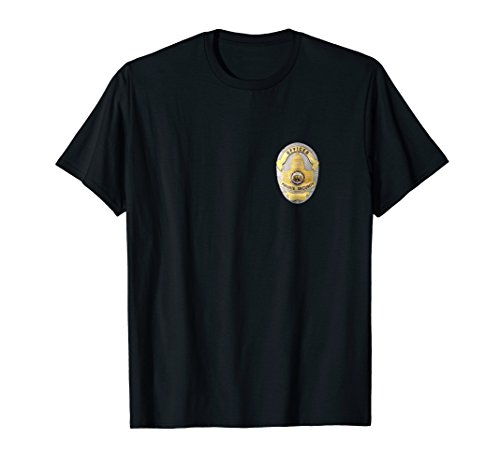 Officer Private Security T-shirt Badge Uniform Top Tee