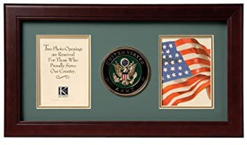allied frame united states army dual picture frame - Dual Picture Frame