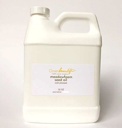 MEADOWFOAM SEED OIL ORGANIC EXPELLER PRESSED 100% PURE NATURAL 32 OZ