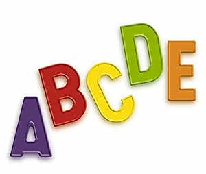 Amazon Quercetti Magnetic Uppercase Letters 48 Piece