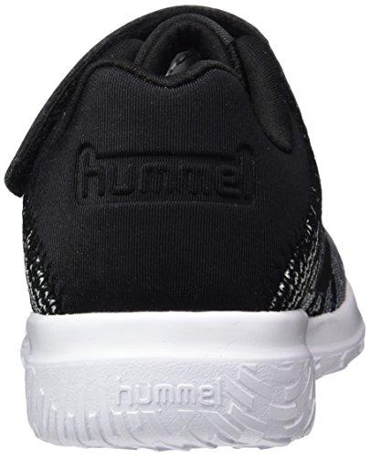 Hummel Actus Jr, Zapatillas Deportivas Para Interior Unisex Niños Negro (Black)