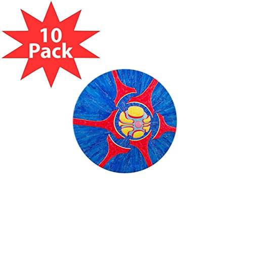 Mini Button (10 Pack) Entropy Infinity Enigma Atom Physics