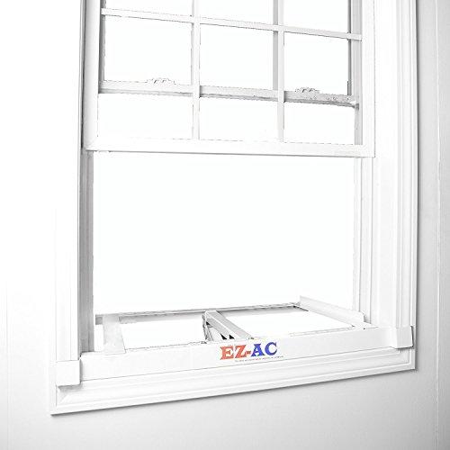 Ez ac air conditioner support bracket no drilling for Air conditioner bracket law