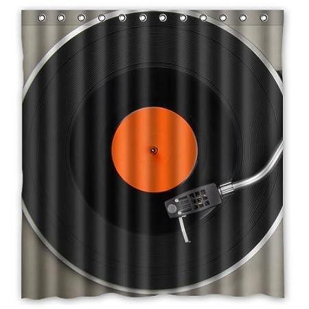 Reproductor de música registros Tocadiscos Tejido impermeable baño ...
