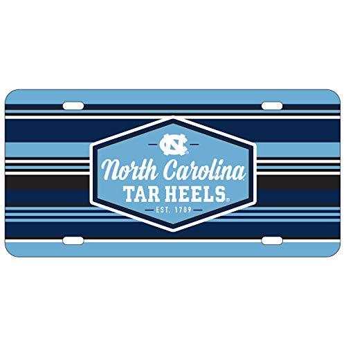 Wincraft North Carolina Tar Heels Official NCAA License Plate Acrylic ()
