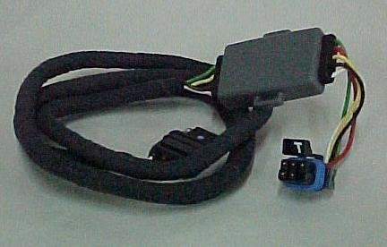 41G3eVgraeL amazon com gm 12498307 trailer wiring harness (includes 7 pin Automotive Wire Connectors at bayanpartner.co