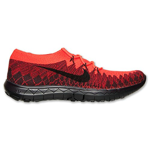 5039e959ed941 Nike Free 3.0 Flyknit Mens Running Workout Shoes Black Crimson University  Red (12) - Buy Online in UAE.