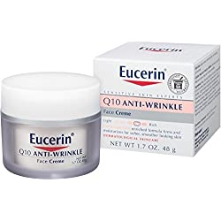 Eucerin Sensitive Skin Experts Q10 Anti-Wrinkle Face Creme 1.70 oz