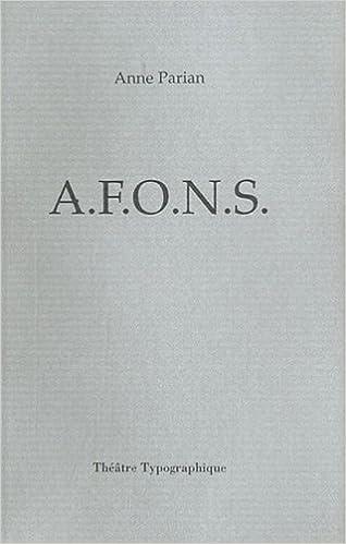 En ligne téléchargement gratuit AFONS pdf ebook