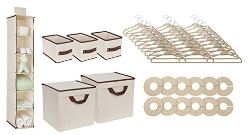 Delta Children Nursery Storage 48 Piece Set