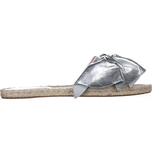 Casual Open Sandals Slide Avec Filles Toe Silver Gemma Les Womens 8IBnCqwY7