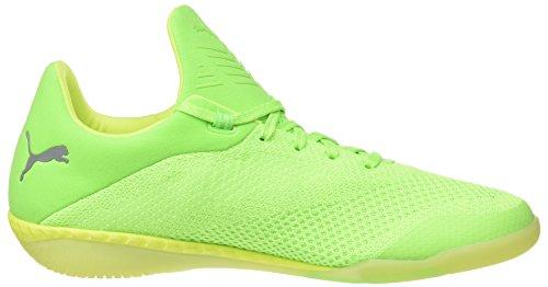 Puma 365 Evoknit Ignite Ct, Zapatillas de Running para Hombre Verde (Green Gecko-puma White-safety Yellow 02)