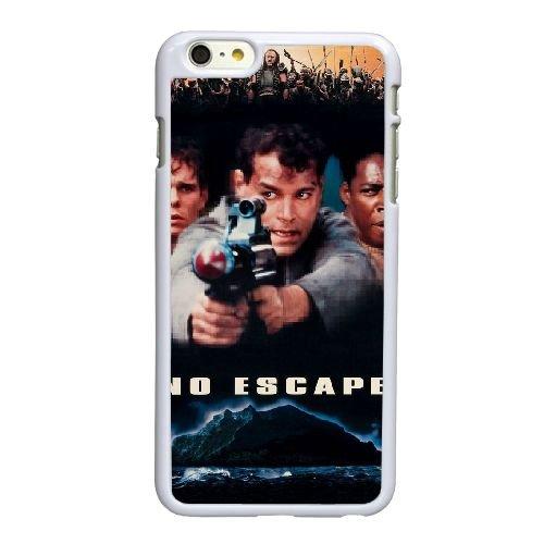 F3D60 No Escape Haute Résolution Affiche J5N7CJ coque iPhone 6 Plus de 5,5 pouces cas de couverture de téléphone portable coque blanche KS3RAV7ZV