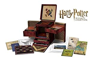Cover Image for 'Harry Potter Wizard's Collection (Blu-ray / DVD Combo + UltraViolet Digital Copy)'