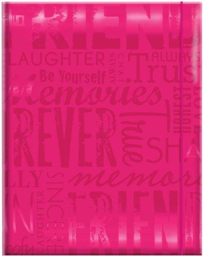 MCS 100 Pocket Big Max Embossed Friends Album, Pink (823361)