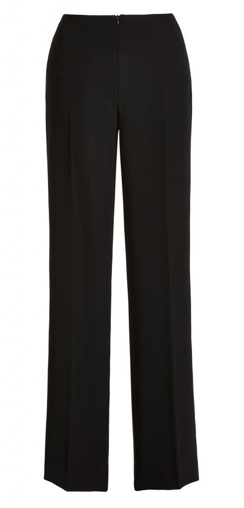 Joseph Ribkoff Black High-Waisted Tailor Wide Leg Pants Style 32204 - Size 2
