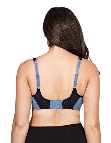 Support Underwired Bra Blue Infinity P5541 Women's Sports Active Parfait