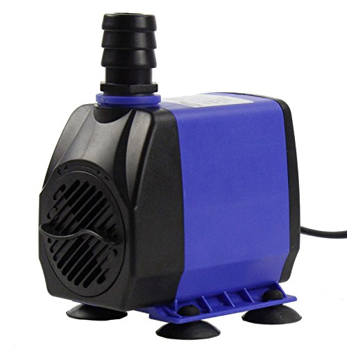 AQUANEAT 660 GPH Submersible Water Pump Adjustable Powerhead Aquarium Fish Tank Fountain Hydroponic from AQUANEAT