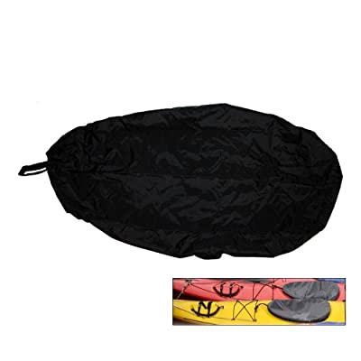 Attwood Universal Fit Kayak Cockpit Cover - Black