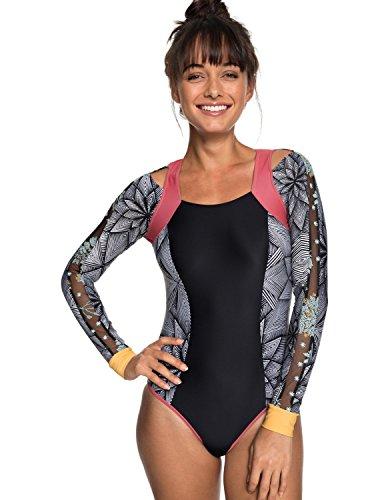 Roxy Junior's Pop Surf Long Sleeve Onesie Swimsuit