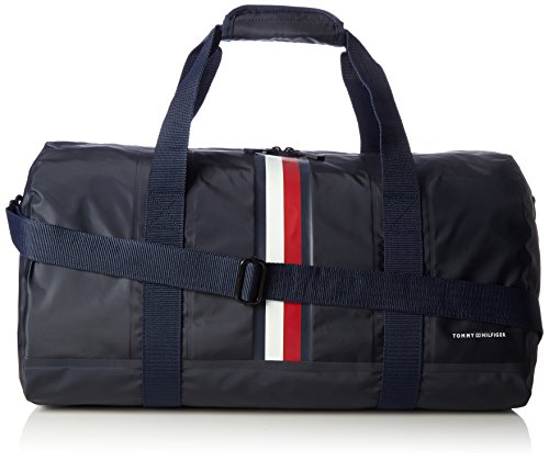 Tommy Hilfiger TH Weatherproof Duffle, Bolso de Mano para Hombre, Azul (Tommy Navy), 28.5x27.5x51 cm (W x H x L)