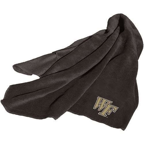 (Logo Chair Wake Forest Demon Deacons NCAA Fleece Throw Blanket LCC-236-25)