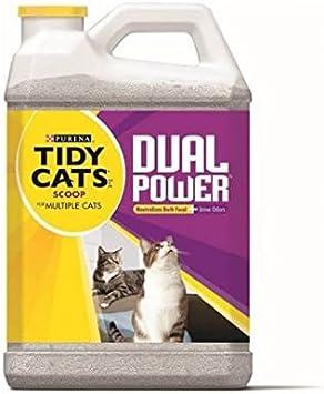 Tidy Cats Dual Power Purina Arena de silice para gatos