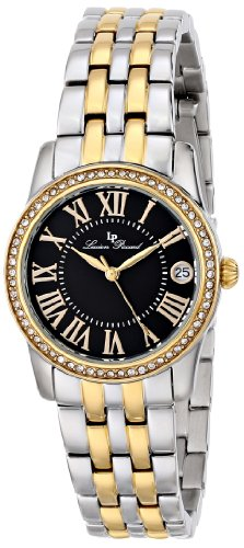 Lucien Piccard Women's LP-12145-SG-11 Landes Analog Display Japanese Quartz Two Tone Watch
