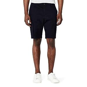 Amazon Brand – MERAKI Men's Cotton Slim Fit Cargo Shorts