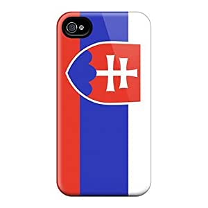 MeSusges Premium Hard Case For Samsung Galaxy S3 I9300 Case Cover - Nice Design - Slovakia Flag