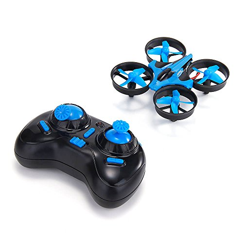 JJRC-H36-Mini-24G-4CH-6Axis-Gyro-Headless-Mode-Remote-Control-RC-Quadcopter-RTF-One-key-Return-Blue